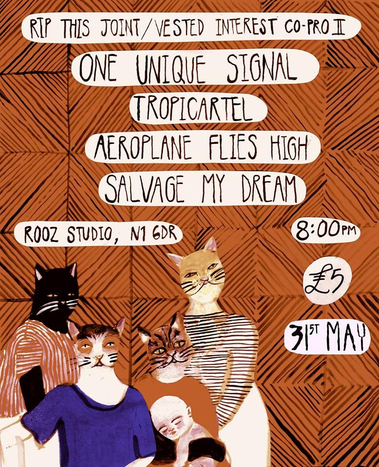 One Unique Signal / Tropicartel poster