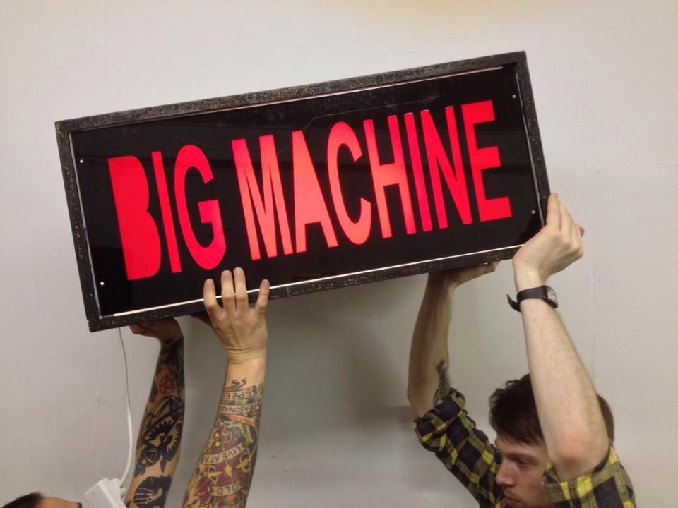 Big Machine press photo